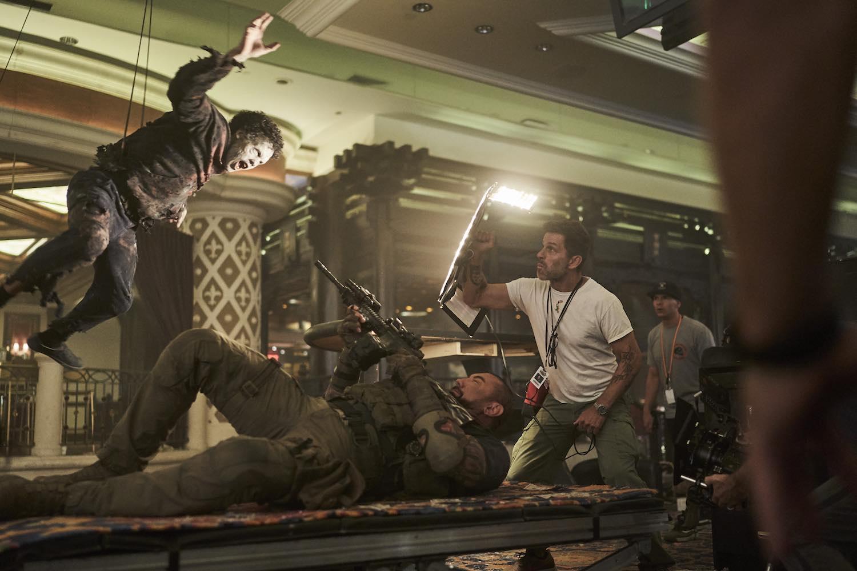 'El ejército de los muertos' es una película emotiva: Zack Snyder