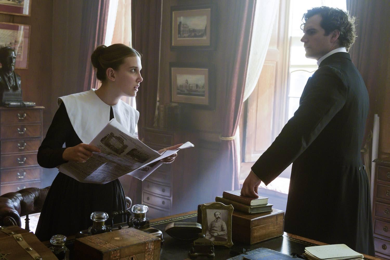 Netflix confirma la secuela de 'Enola Holmes' con Henry Cavill y Millie Bobby Brown