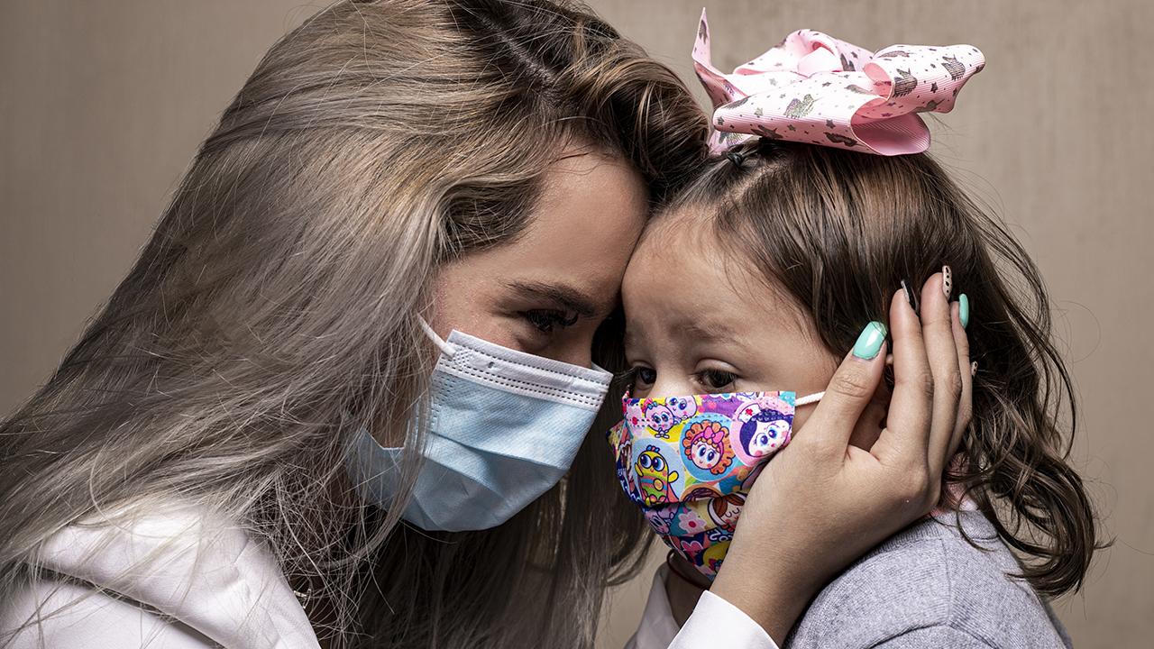 Fotogalería: Las mil batallas de ser madre en pandemia
