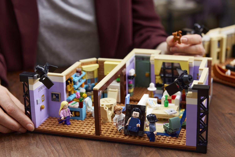 LEGO recrea los departamentos de los personajes de 'Friends' en nuevo set