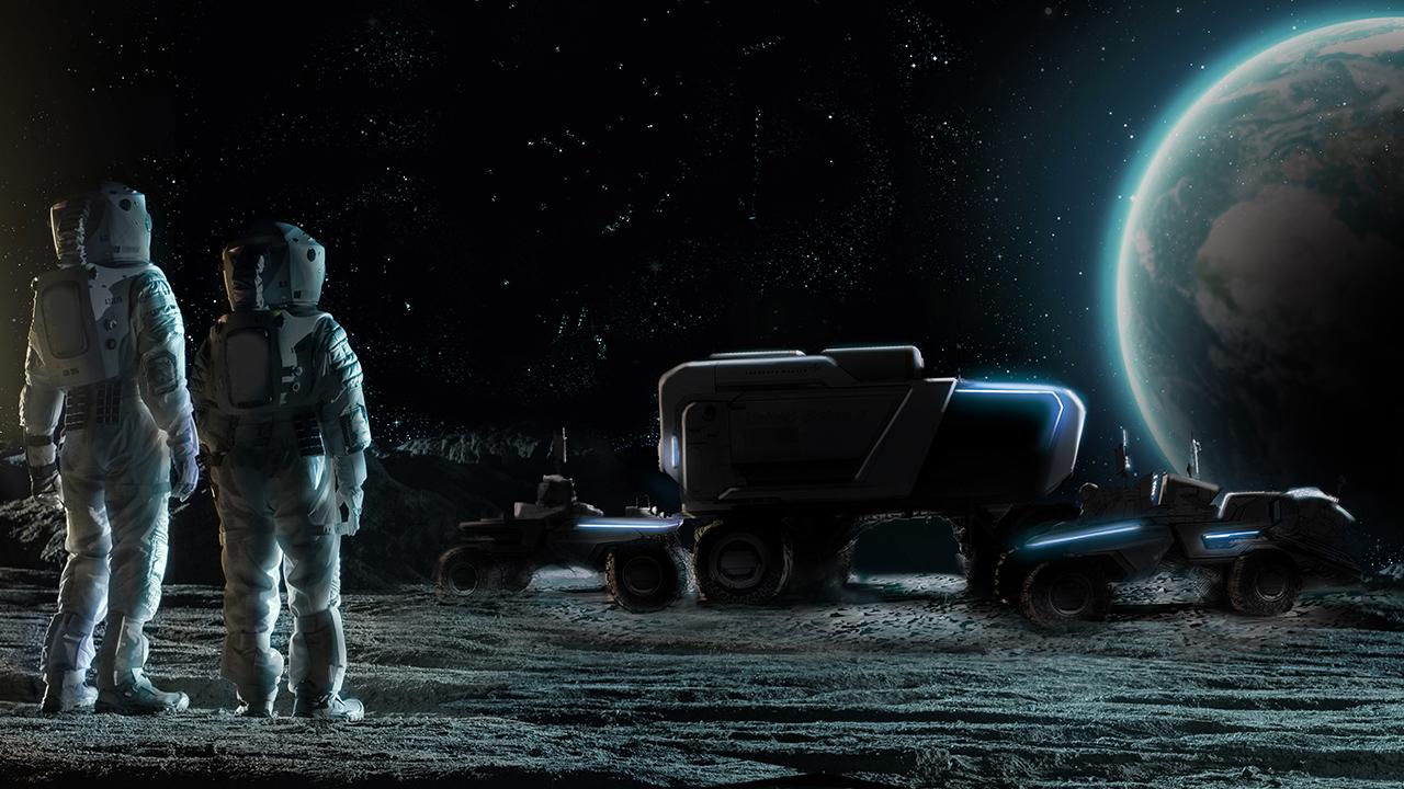 GM y Lockheed crearán vehículo lunar para la NASA