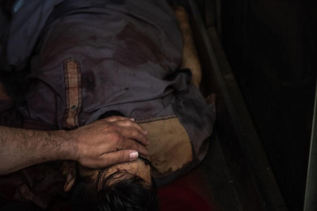 Caídos por ataques aéreos en Israel