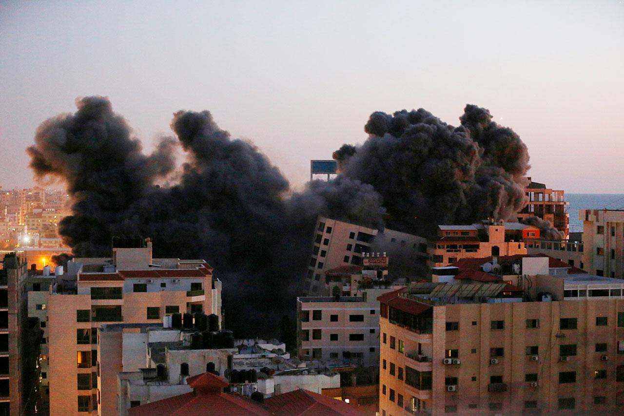 ONU acoge a 47,000 palestinos refugiados en escuelas de Gaza