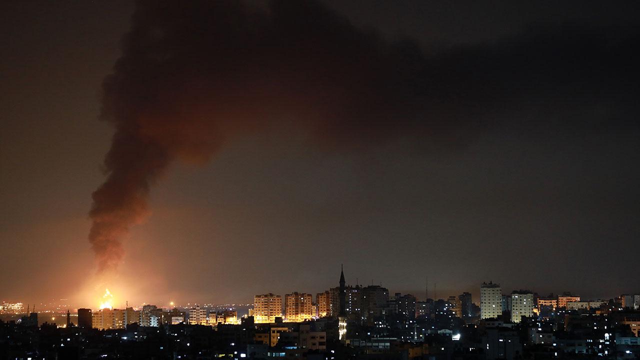 Fotogalería: Tercera jornada de violencia entre Israel y Gaza