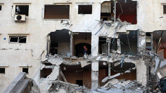 Daños estructurales en Israelí