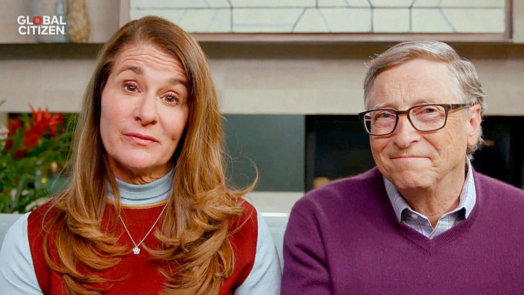 Melinda Gates y Bill Gates