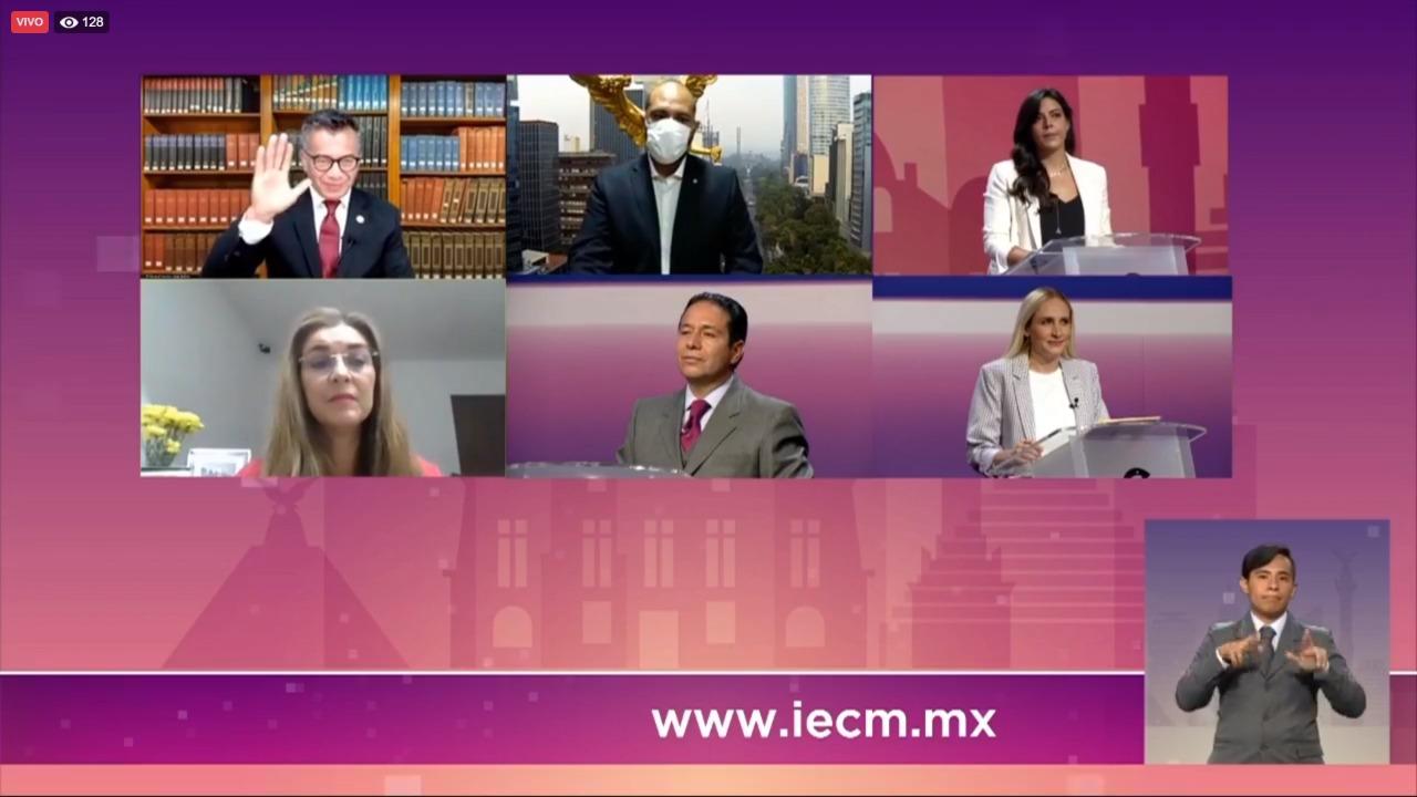 PES carga contra Morena en debate por Cuajimalpa; se ausenta Rubalcava