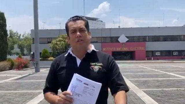 Sergio Gutiérrez, representante de Morena en el INE. Foto: Facebook