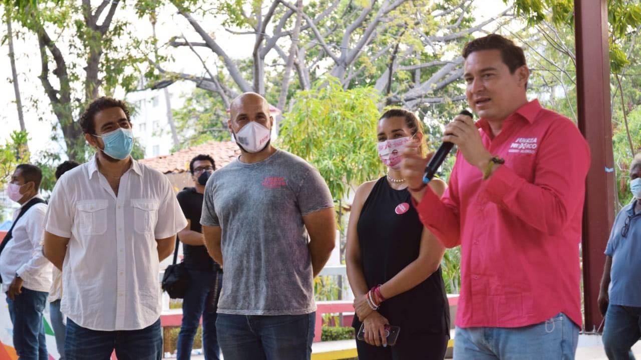 Atacan en Acapulco a candidato a alcalde de Fuerza por México