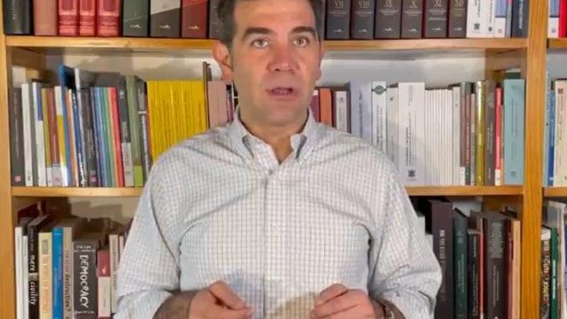 Lorenzo Córdova Vianello, Consejero presidente del INE. Foto: INE