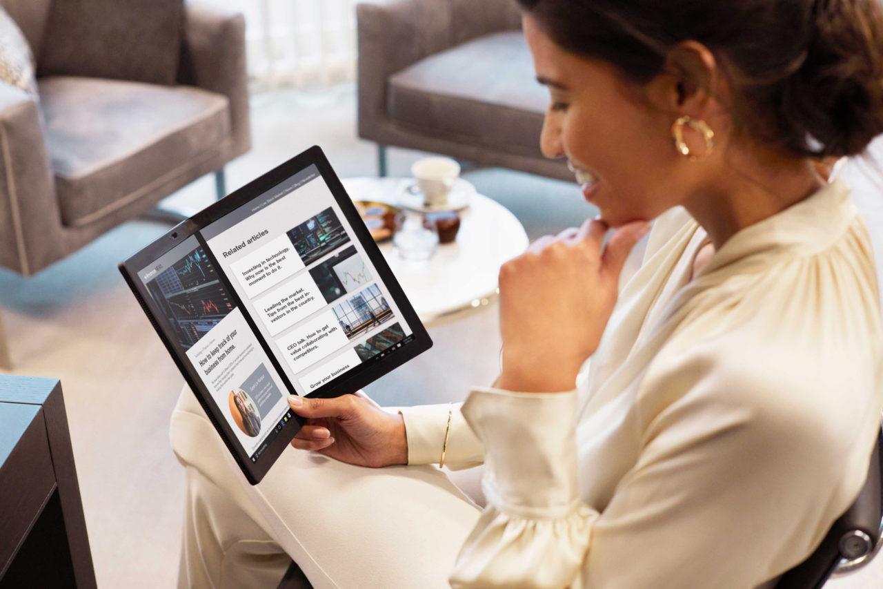 ThinkPad X1 Fold de Lenovo, un aliado computacional para empresarios, líderes y directivos