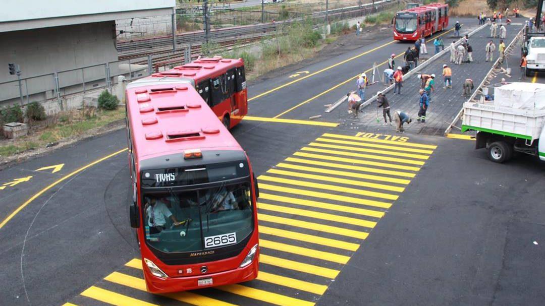 Metrobús entra al quite: cubrirá servicio de tramo elevado de Línea 12