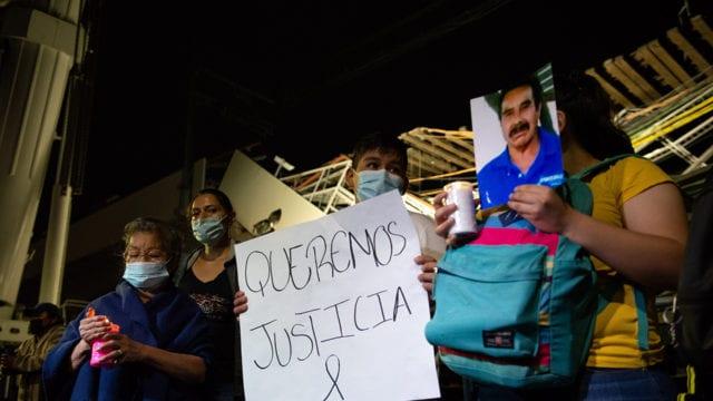 Manifestación L12 de metro