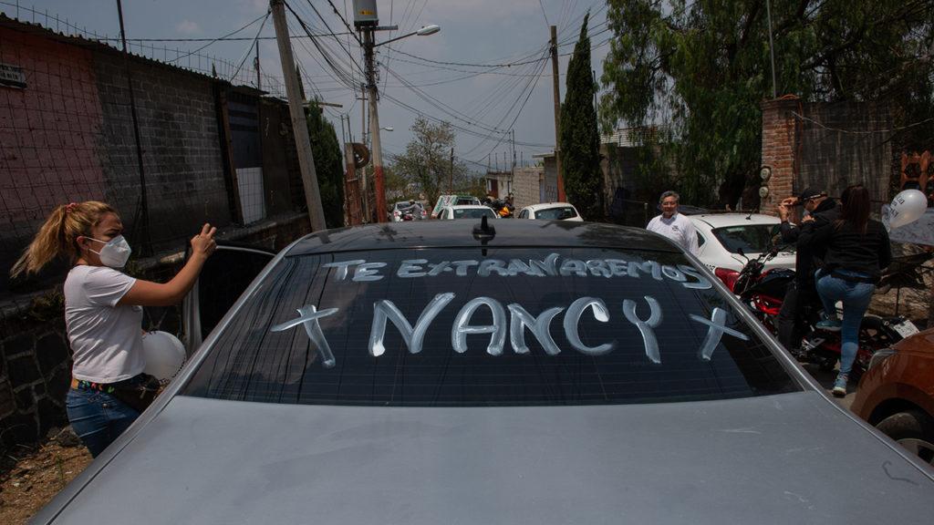 Sepelio Nancy Lezama
