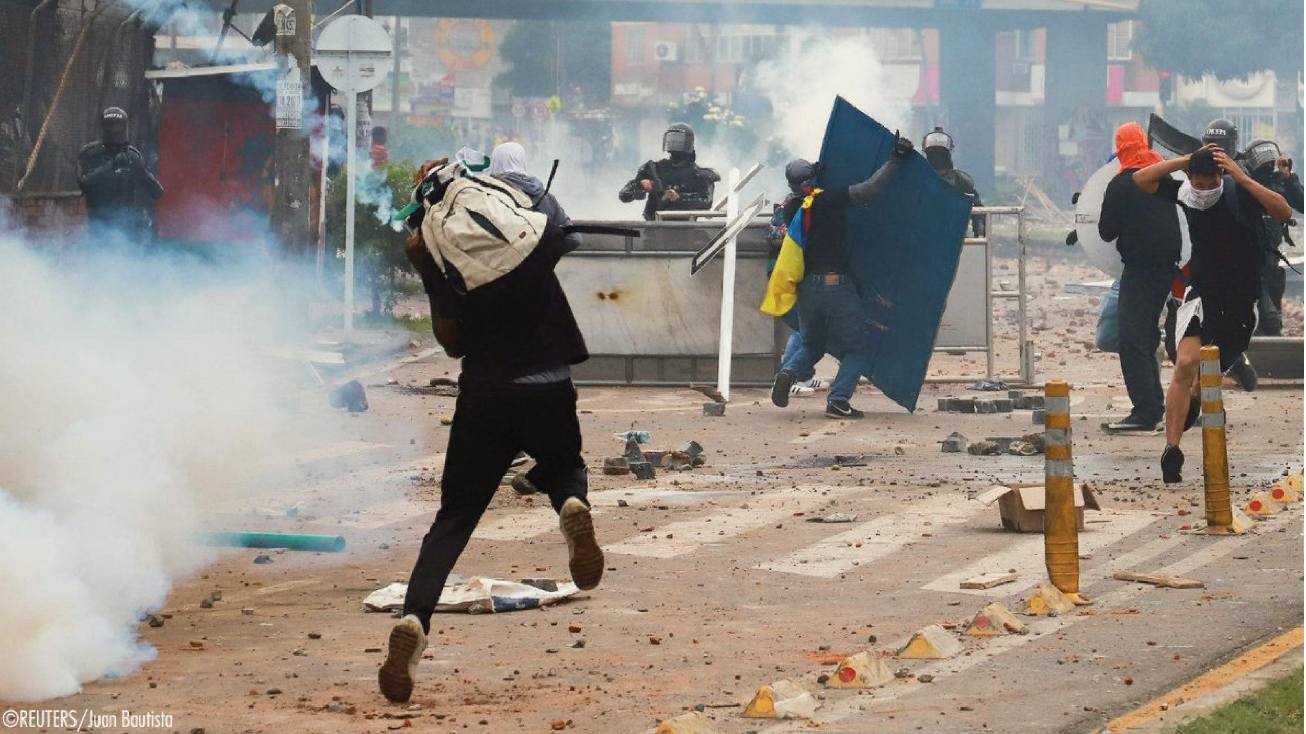 La ONU y UE condenan violencia contra manifestaciones en Colombia