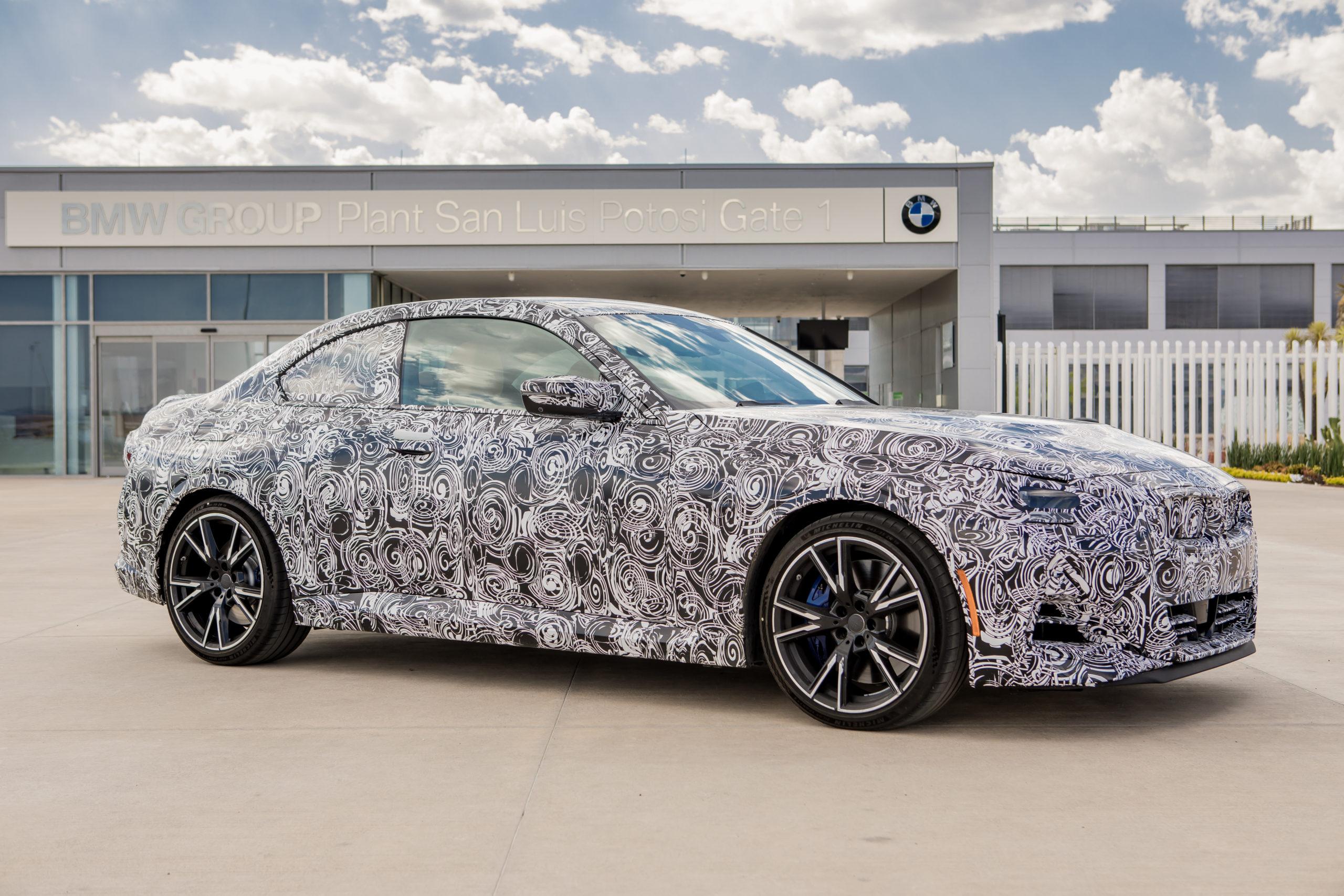 De México para el mundo: BMW producirá el Serie 2 Coupé en exclusiva en SLP