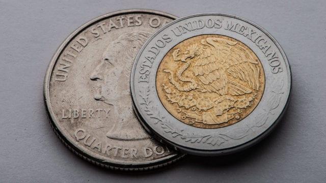 Peso dólar economía dolar