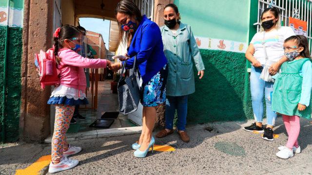 Regreso a clases Guanajuato 1