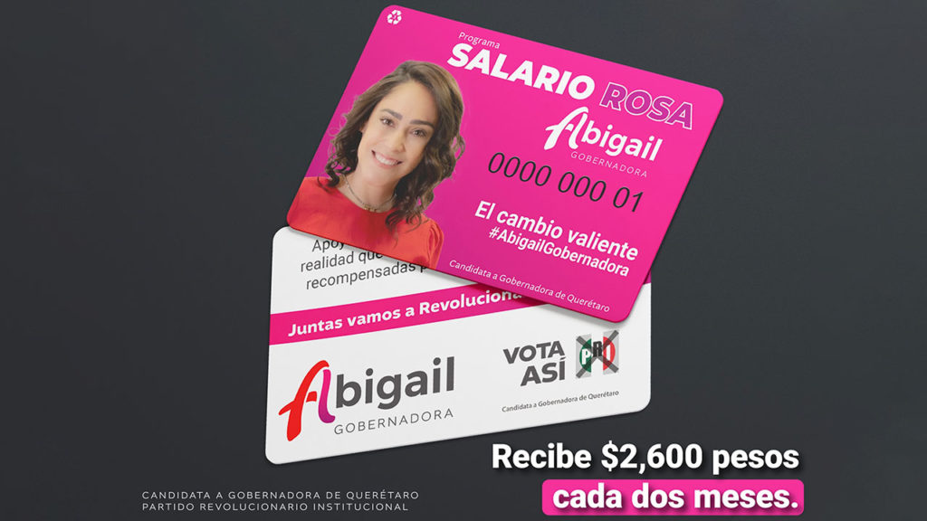 Salario Rosa Tarjeta Abigail