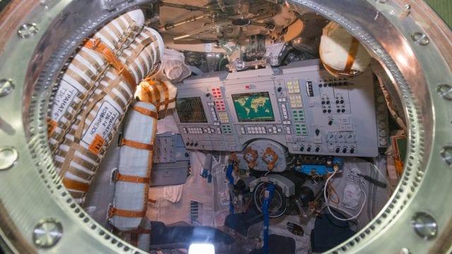 La agencia espacial rusa pone a la venta una cápsula de descenso Soyuz