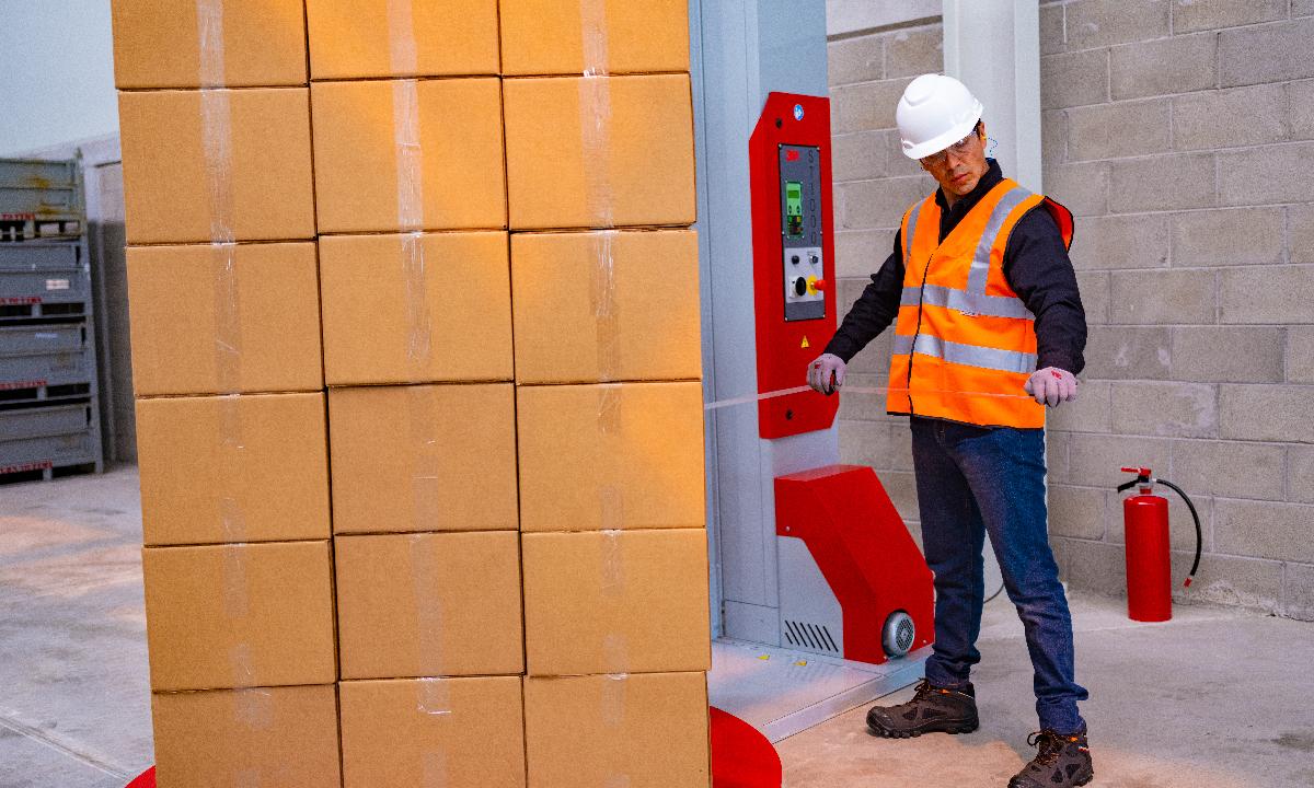 Automatización de pallets con 3M: ahorro y seguridad en las condiciones más complejas