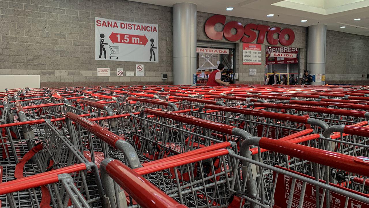 Ventas de supermercados y departamentales crecen 4.5% en agosto