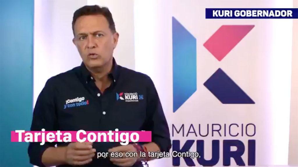 TARJETA CONTIGO MAURICO KURI