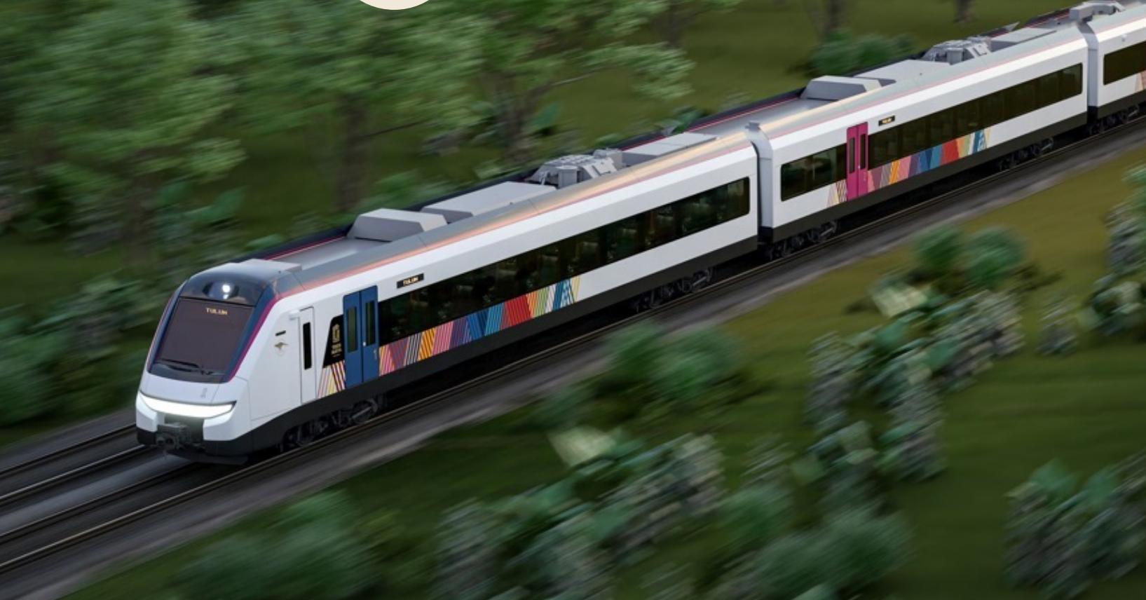 Xiinbal, Janal y P'atal: así serán los convoyes del Tren Maya