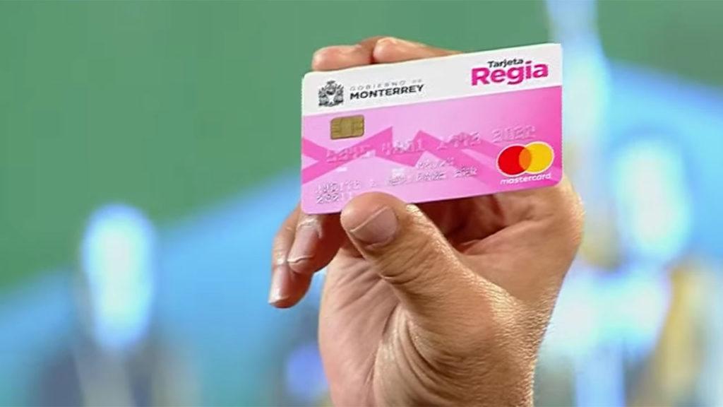 Tarjeta Regia