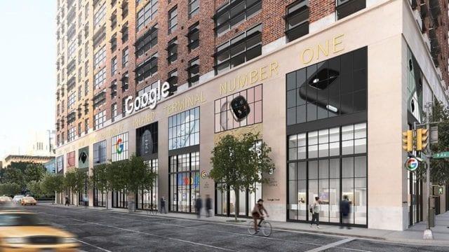 Google abrirá su primera tienda física en Nueva York este verano