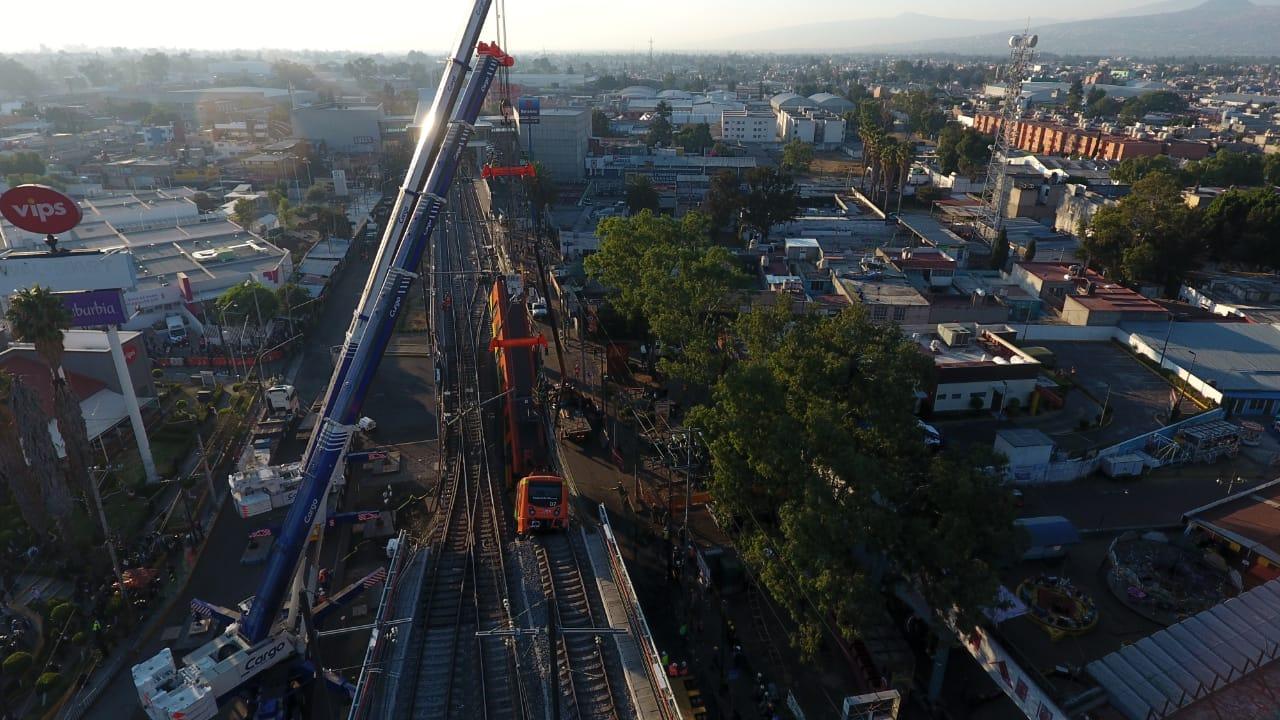 Última revisión del tramo elevado de L12 fue el año pasado y no arrojó anomalías: Metro