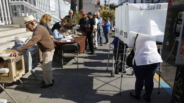 Elecciones Votación 1