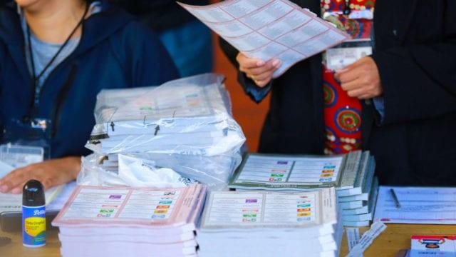 Elecciones Votación 2