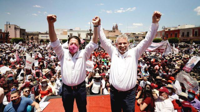Campaña de Morena en Michoacán. Foto: Morena