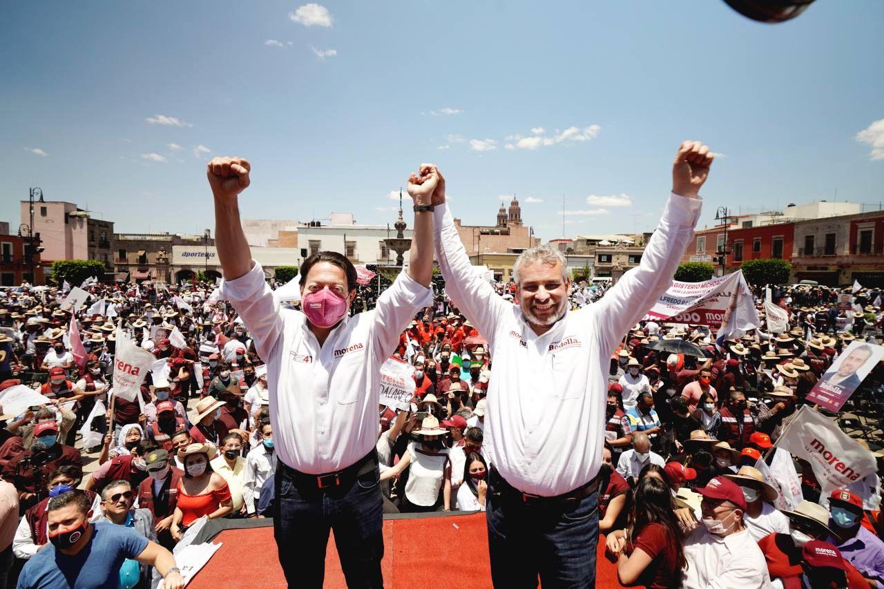 Pega a Morena incertidumbre por candidatos en Guerrero y Michoacán: encuesta El Financiero