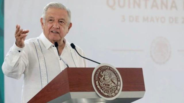 El presidente López Obrador en conferencia de prensa. Foto. Presidencia