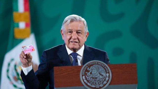 """Tarjeta""""Mujer Fuerte"""". Foto: Gobierno de México."""