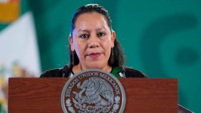 Luisa María Albores. Foto: Presidencia