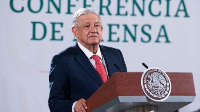 El presidente Andrés Manuel López Obrador en conferencia de Prensa. Foto: Gobierno de México
