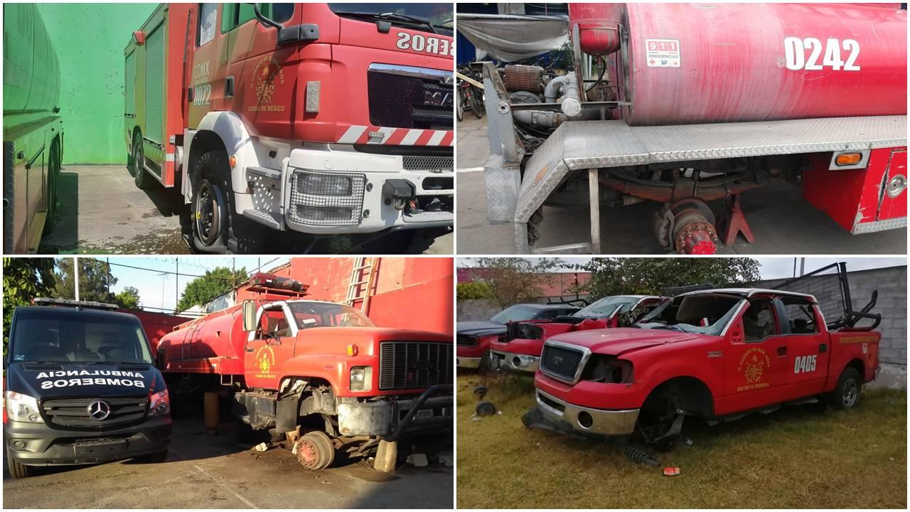 Bomberos enfrentan temporada de incendios con carencia de equipo