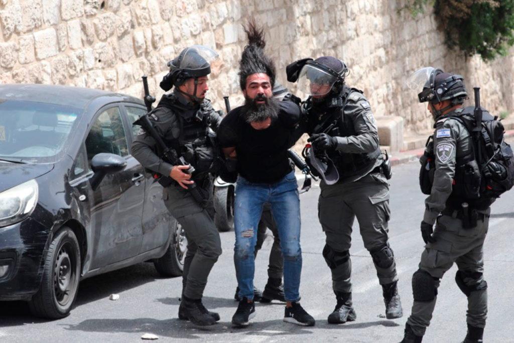 Israel Palestina Clashes continue in Jerusalem