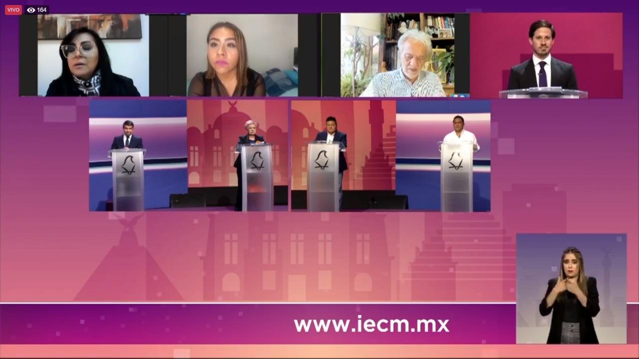 Línea 12 y ausencia de Romo protagonizan debate por alcaldía Miguel Hidalgo