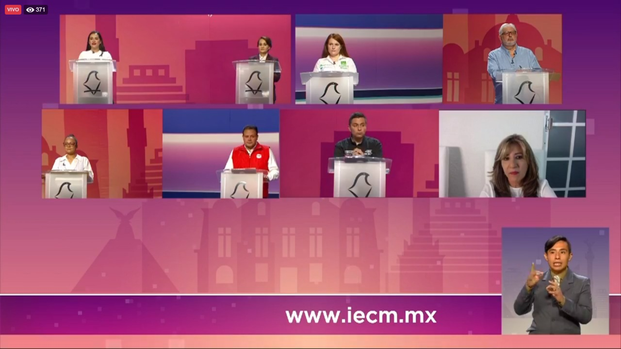 Candidata del PAN-PRI-PRD a Cuauhtémoc propone circuito de marchas feministas