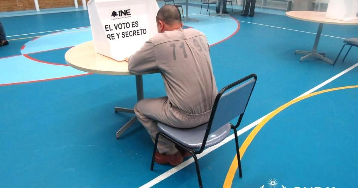 Piden limitar prisión preventiva antes que garantizar voto a reos