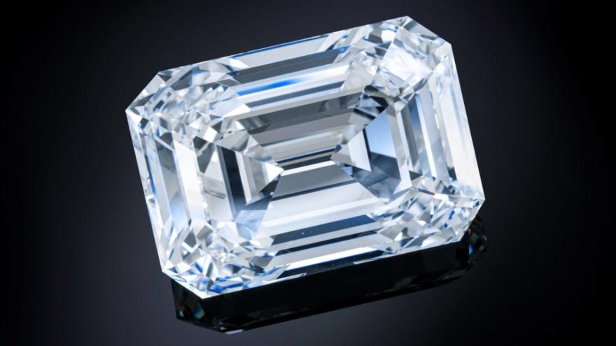 Venderán diamante de 101 quilates en subasta; podría alcanzar 20 mdd