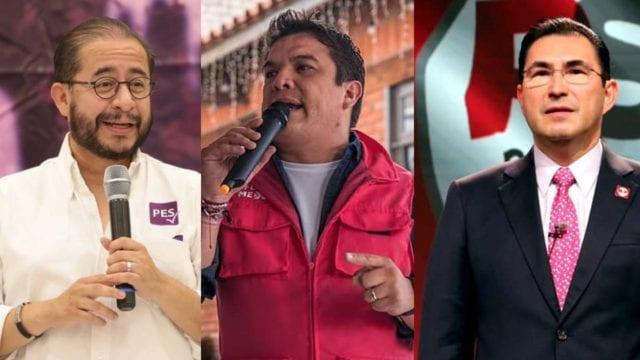 Hugo Eric Flores, Gerardo islas y Fernando González