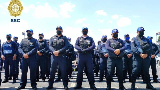Policías de la Ciudad de México