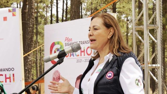 PRI oficializa declinación de candidata a gobierno de Chihuahua por el PAN