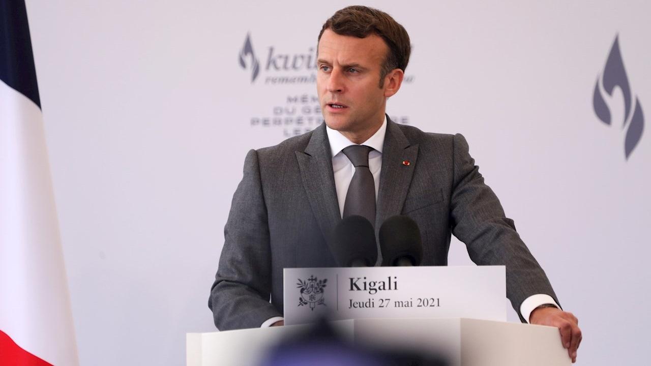 Macron admite responsabilidad de Francia en genocidio de Ruanda en 1994
