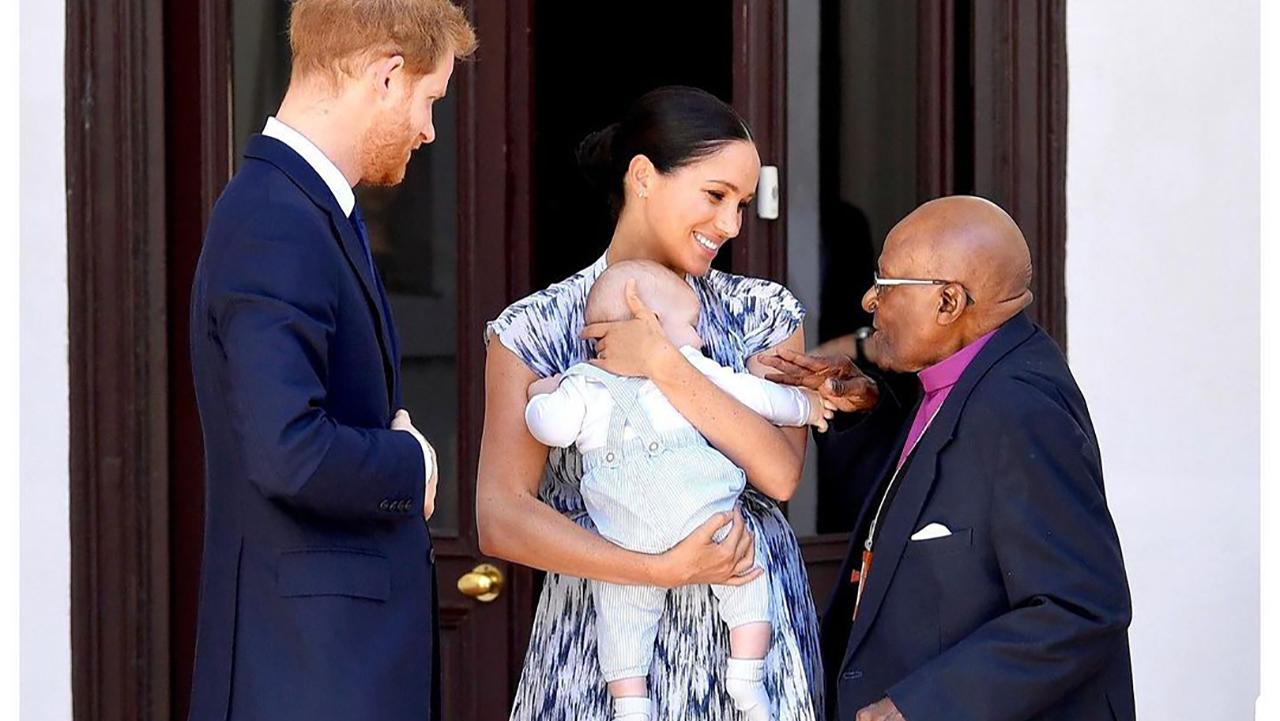 Por su cumpleaños, familia real felicita a Archie, hijo de Meghan y Harry